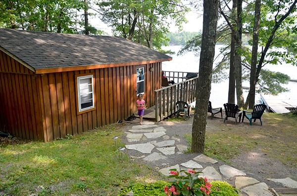Hideaway Cottage at Blue Mountain Lodge in the Kawarthas