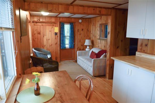 Inside Hideaway Cottage