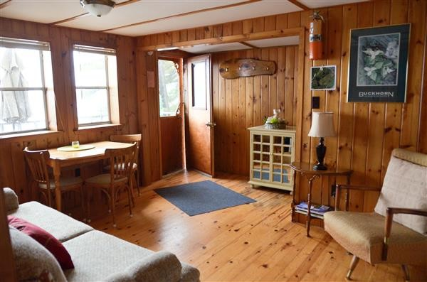 Inside Lakeview Cottage